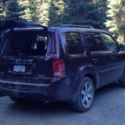 Taking to the Road with the 2012 Honda Pilot