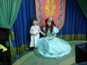 Caity meets Ariel