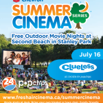 Summer Nights Perfect for Summer Movies