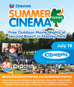 Fresh air cinema