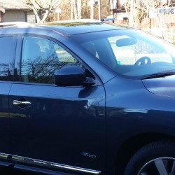 Stylish Fuel Economy with the Hybrid 2014 Nissan Pathfinder