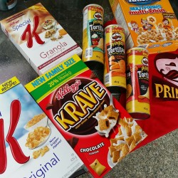 Yummy Giveaway from Kellogg's #KelloggCAInnovations
