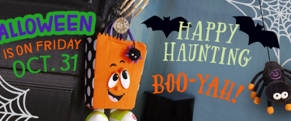 Get You House Ready for Halloween with Hallmark