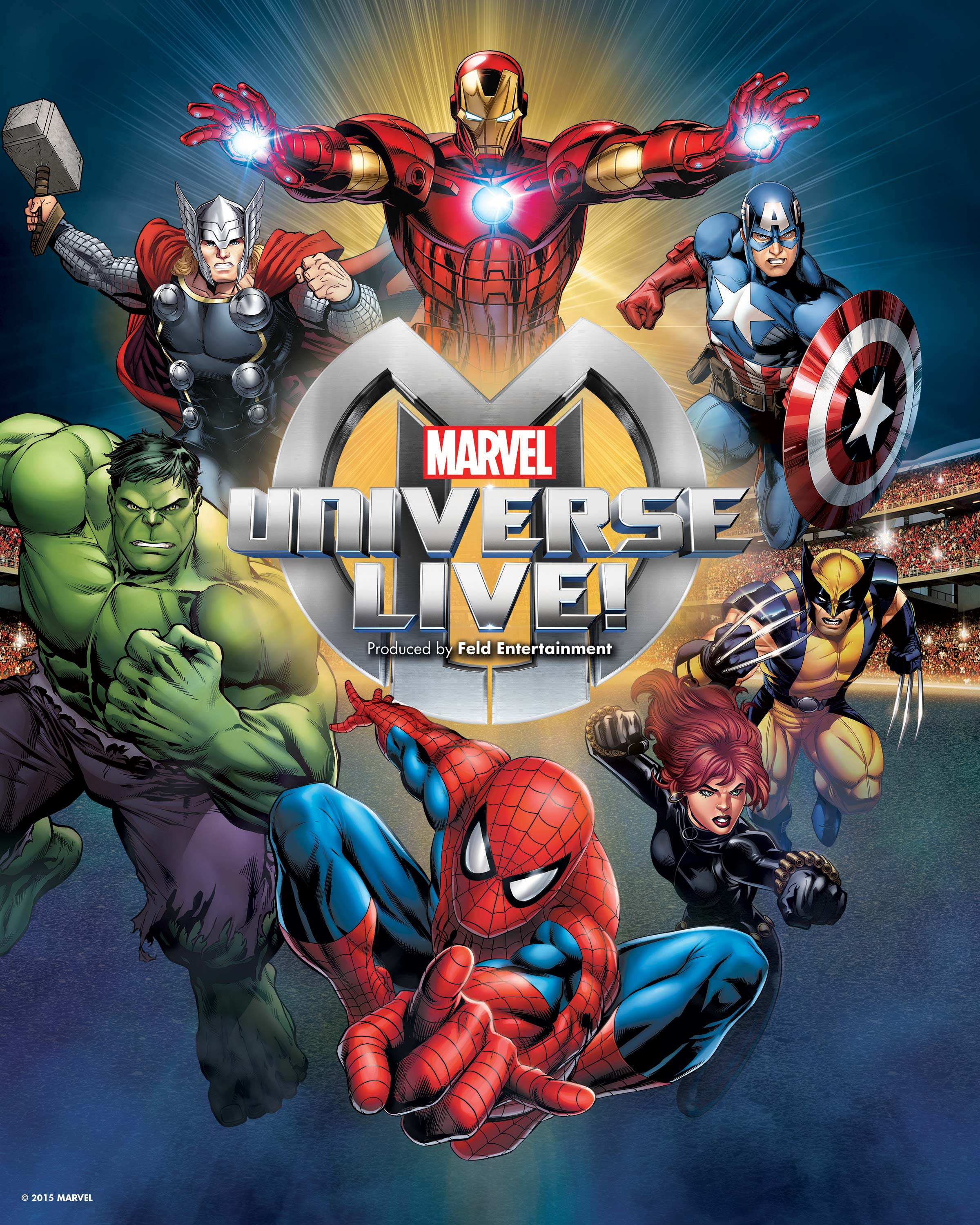 Marvel Heroes Live In Your Town Crunchy Carpets