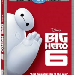 Big Hero 6 out on DVD/Blu-Ray