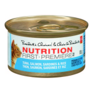 Cat Food - Tuna, Salmon, Sardines