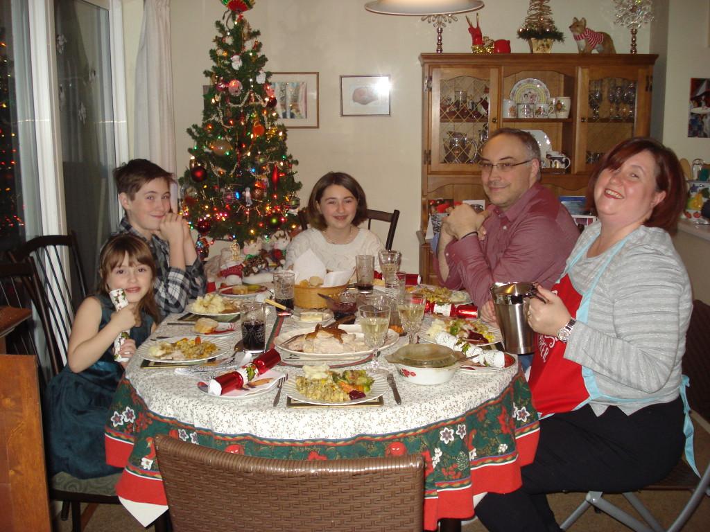 Christmas Eve at Nanas