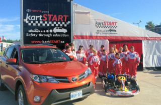 kartSTART Your Kids Road to Car Safety with Toyota this Summer