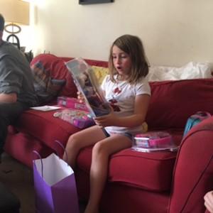 Tara turns Seven