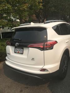 2017 Toyota Rav 4 Rear