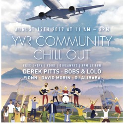 Chill out with YVR on August 19th